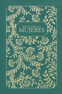 Rvr60 Biblia De Estudio Para Mujeres Tela Verde Hardback