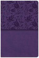 KJV Giant Print Reference Bible Purple (Red Letter Edition) Imitation Leather