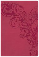 KJV Giant Print Reference Bible Pink (Red Letter Edition) Imitation Leather