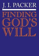Finding God's Will Booklet