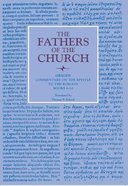 Origen: Commentary on the Epistle to the Romans, Books 6-10 (Fathers Of The Church Series) Paperback