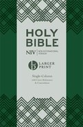 NIV Larger Print Compact Single Column Reference Bible Flexi Back