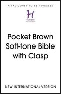 NIV Pocket Bible With Clasp Flexi Back