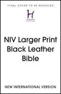 NIV Larger Print Bible Flexi Back