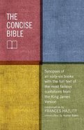 The Concise Bible Hardback