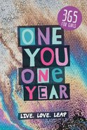 One You One Year: 365 Devotions For Girls Paperback