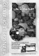 Life to the Full? (Transcript) (York Courses Series) Booklet