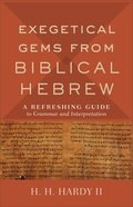 Exegetical Gems From Biblical Hebrew: A Refreshing Guide to Grammar and Interpretation Paperback