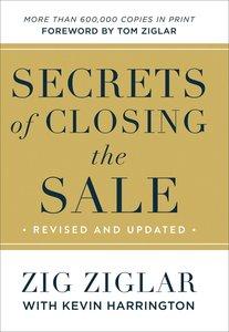 Secrets of Closing the Sale
