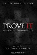 Prove It Paperback