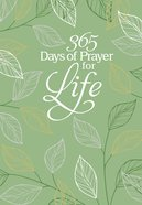 365 Days of Prayer For Life Imitation Leather