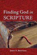 Finding God in Scripture Paperback