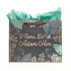 Gift Bag Large: Come Let Us Adore Him Stationery
