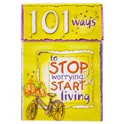 Box of Blessings: 101 Ways to Stop Worrying Start Living Stationery