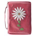 Bible Cover Patch Applique: Pink Vinyl Medium Bible Cover