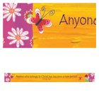 Magnet Strip: Anyone Who Belongs to Christ... (2 Cor 5:17) Novelty