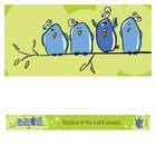 Magnet Strip: Rejoice in the Lord Always (Phil 4:4) Novelty