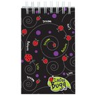 Laedee Bugg Notepad: Beetle Swirl With Scripture Spiral