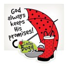 Notepad Die-Cut: Laedee Bugg God Always Keeps His Promises Stationery