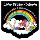 Notepad Die-Cut: Laedee Bugg Live.Dream.Believe Stationery