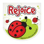 Notepad Die-Cut: Laedee Bugg Rejoice in the Lord Always Stationery