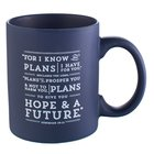 Ceramic Mug: I Know the Plans (Navy) Homeware