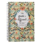 Spiral Notebook: Grace Sufficient (2 Cor 12:9) Spiral