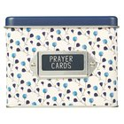 Prayer Cards in Tin Box: Prayers For a Mom's Heart, Blue Floral Box