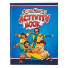 Super Heroes Activity Book Paperback