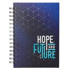 Spiral Journal: Graduation, Hope & Future Navy/Light Blue (Jer 29:11) Stationery