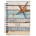 Spiral Journal: Be Still and Know.... Starfish (Large) (Ps 46:10) Spiral