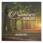 2020 Large Calendar: Promises From God Calendar