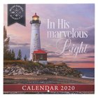 2020 Large Calendar: In His Marvelous Light Calendar