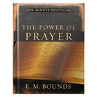 One Minute Devotions: The Power of Prayer Hardback