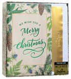 Christmas Premium Boxed Cards: We Wish You a Merry Christmas (Luke 2:14 Kjv) Cards