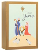 Christmas Match Boxed Cards: Manger (Matthew 1:21 Kjv) Cards
