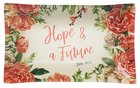 Ceramic Trinket Tray: Hope & a Future, Pink Floral (Jeremiah 29:11) Homeware