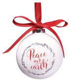 Porcelain Ornament: Round 89Mm Diameter Gift Box Homeware