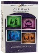 Christmas Boxed Cards: Celebrate His Birth (Kjv) Box