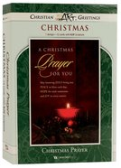 Christmas Boxed Cards: Christmas Prayer For You, (Luke 2:10 Kjv) Box