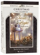 Christmas Boxed Cards: Jesus is the Light, Silver Lantern (Matt 2:2 Niv) Box