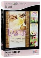 Boxed Cards: Easter - Jesus is Risen (Kjv) Box