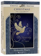 Christmas Boxed Cards: Heavenly Peace, White Dove (Luke 2:14 Kjv) Box