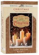 Christmas Boxed Cards: Light and Life, Candles (John 8:12 Kjv) Box