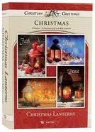 Christmas Boxed Cards: Christmas Lanterns; Hope, Faith, Peace, Joy (Kjv) Box