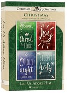 Christmas Boxed Cards: Let Us Adore Him (Kjv) Box