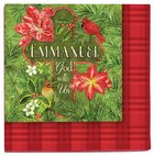 Christmas Napkins: Emmanuel God With Us Homeware