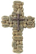 Resin Cross Stones: Names of Jesus Plaque