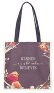 Canvas Tote Bag: Blessed is She (Blessed Is She Collection) Soft Goods