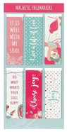 Bookmark Magnetic : It is Well, Pinks (Set of 6) (Well With My Soul Collection) Stationery